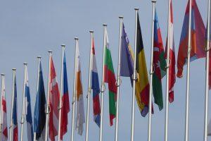 flagge der eu mitgliedstaaten